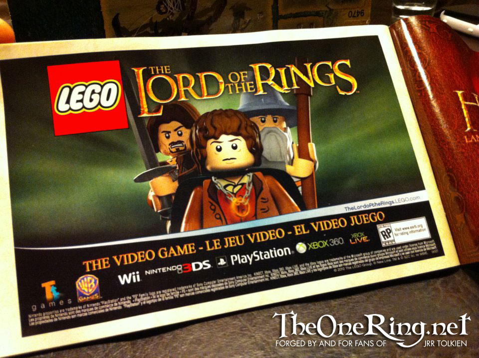 Lego The Lord of The Rings Logo Lego Lord of The Rings ad no