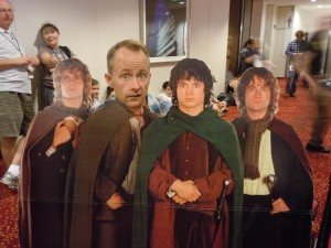 Billy Boyd as Sam!