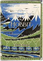 Hobbit Book First Edition