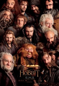 Hobbit movie dwarf poster