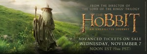 The Hobbit Movie 1 Gandalf Poster