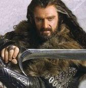 Thorin with Orcrist