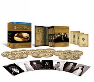 Extended Edition Blu ray DVD set