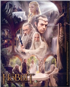 Film Cells.com Hobbit Poster