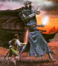 Weathertop Nazgul attacks Frodo