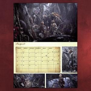 2013 hobbit calendar august