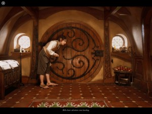 Bilbo at Bag End