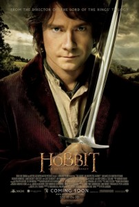 Hobbit Movie Poster Bilbo