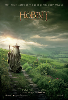 Hobbit Movie Poster Gandalf