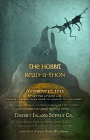 desert island supply co hobbit readathon