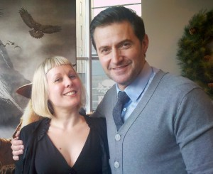 The fortunate greendragon with Richard Armitage