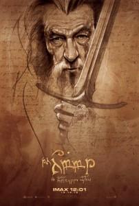 Hobbit - IMAX-poster-Gandalf