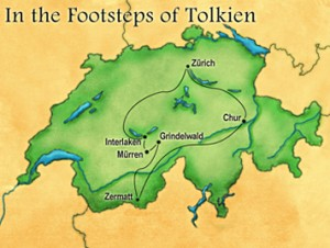 In the footsteps of Tolkien tour