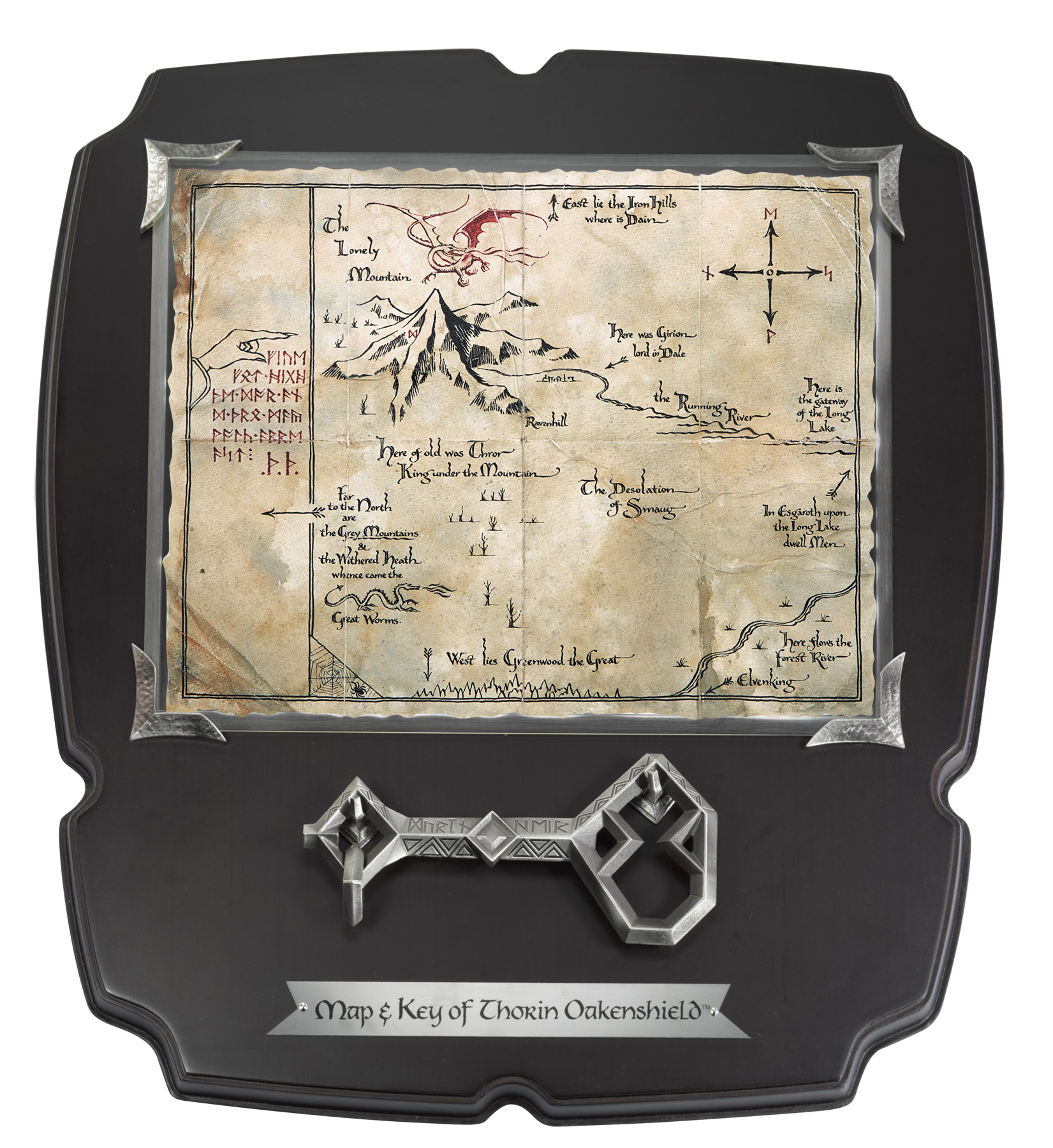 Collecting The Precious Noble Collection map and key of Thorin