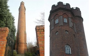 Perrott's Folly, at Egbaston in Birmingham.