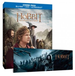 EXCLUSIVE The Hobbit_ An Unexpected Journey Blu-ray + DVD Combo and Panoramic Poster Set | HobbitShop.com -- The Official Online Store of The Hobbit Films and The Lord of the Rings Film Trilogy