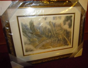 Gandalf on Gwaihir Over Helm_s Deep Artist Proof by Alan Lee Signed by 3 | eBay
