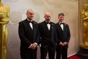 Weta Digital's Simon Clutterbuck, James Jacobs, Dr. Richard Dorling won Oscars Sunday, Feb. 10, 2013.