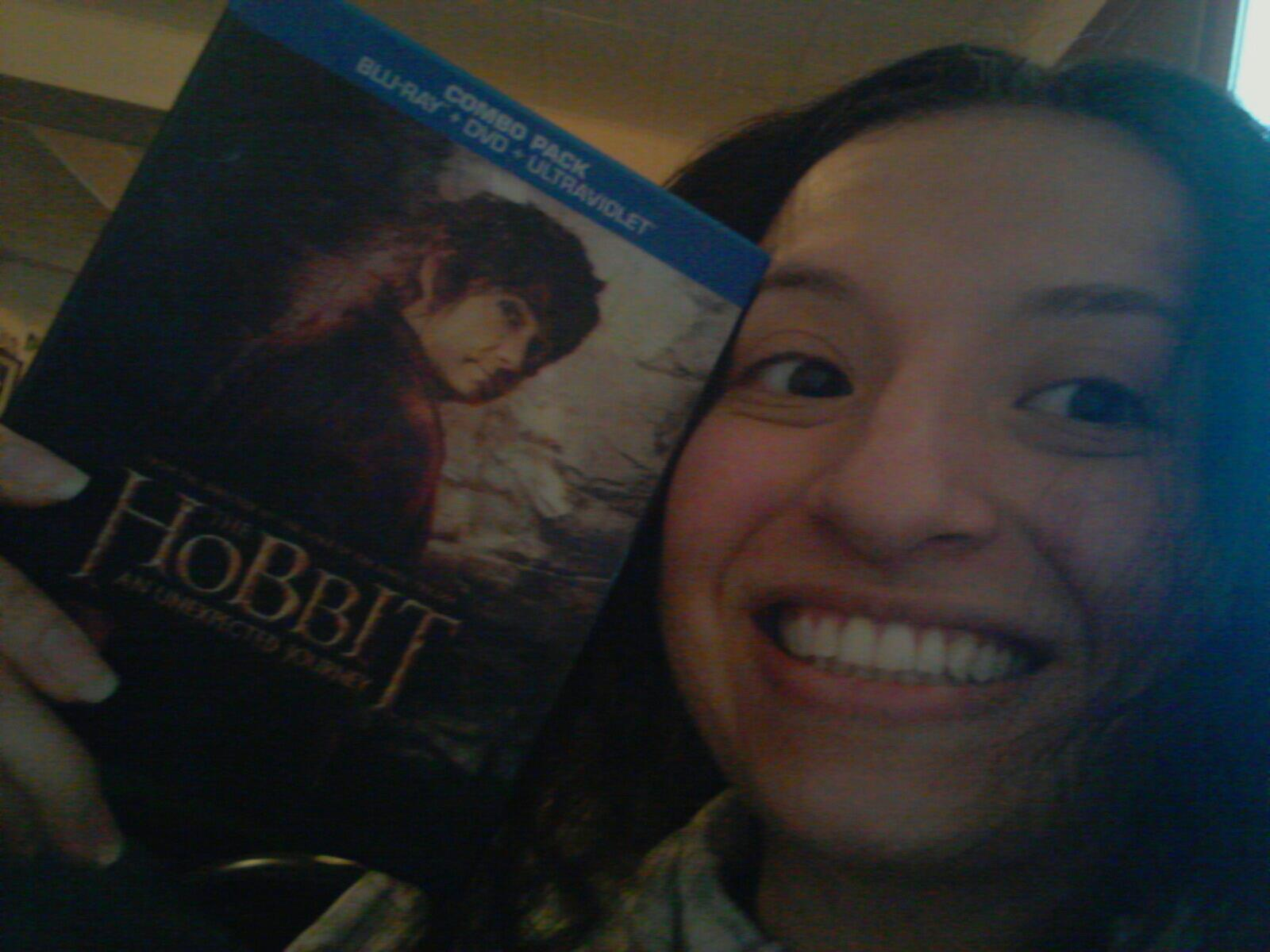 Share Your The Hobbit An Unexpected Journey Blu Ray And