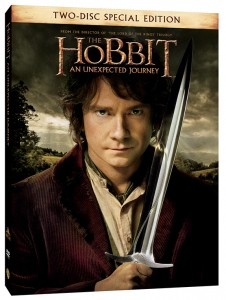 "2-disc DVD edition of ""The Hobbit: An Unexpected Journey."""