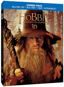 3D Blu-ray combo pack of The Hobbit: An Unexpected Journey