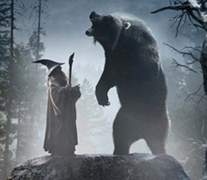 Beorn with Gandalf