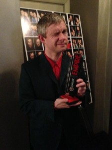 Martin Freeman Jameson Empire Awards 2013