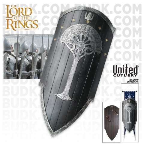 Collecting The Precious United Cutlery Gondorian Shield