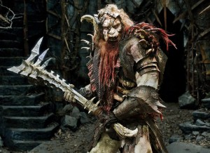 Bolg, son of Azog. Original design.