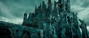 Dol Guldur from An Unexpected Journey.