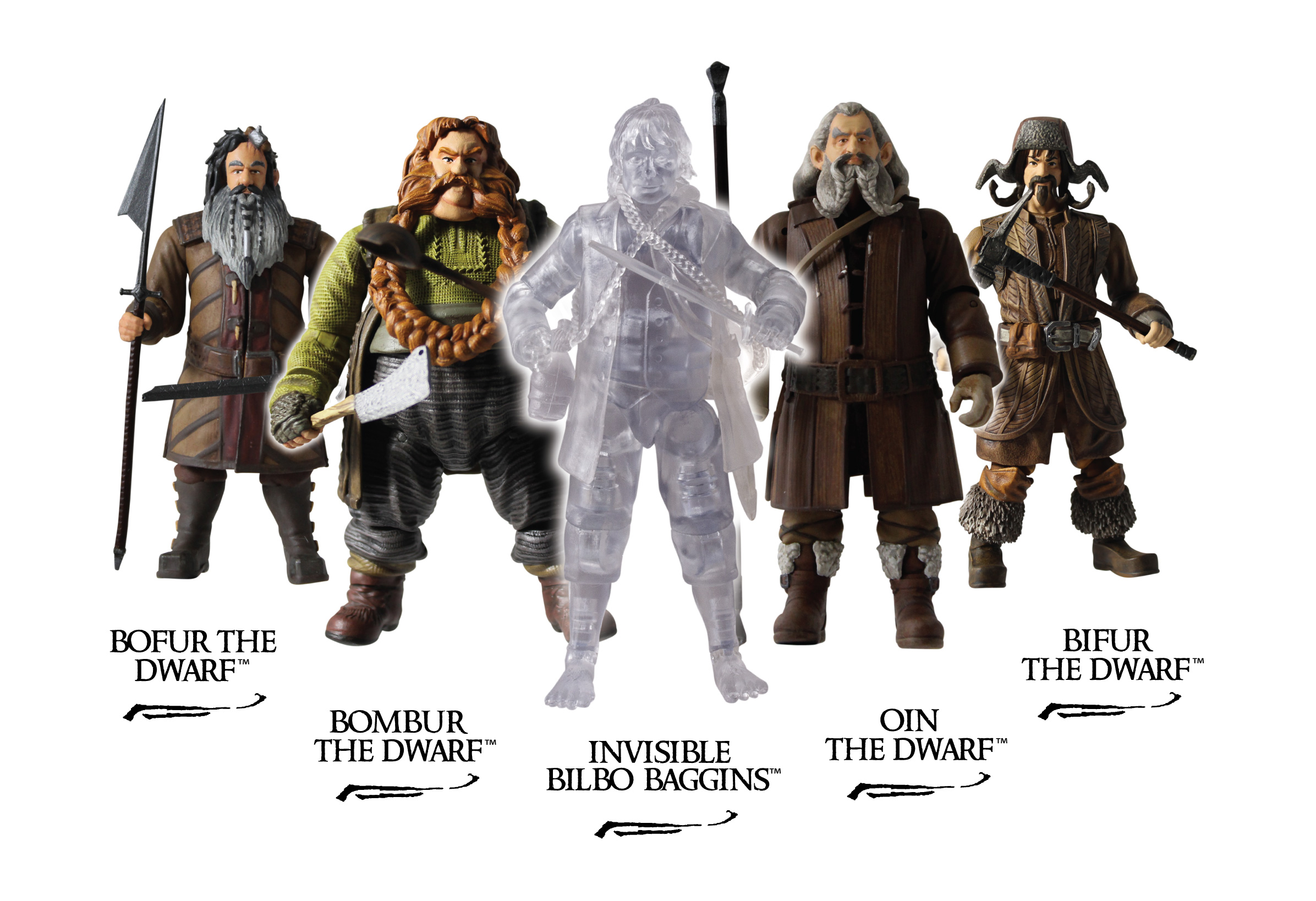 Blades And Rings Action Figures