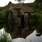 The mill at Hobbiton Movie Set