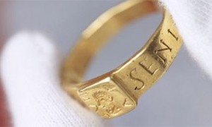 The ring that may have inspired Tolkien's Hobbit books