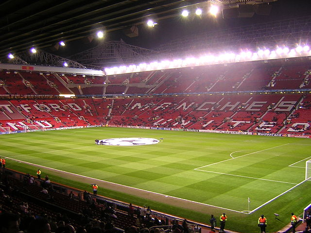 Smaug would stretch at least half the length of Old Trafford from nose to tail, and possibly as much as two-thirds of the pitch. Creative commons photo taken by user: https://commons.wikimedia.org/wiki/User:Xavoun
