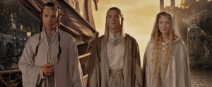 Elrond Celebor and Galadriel