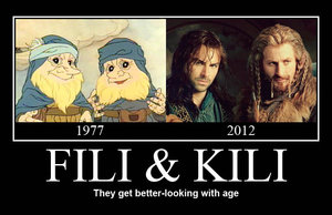 the_hobbit___fili_and_kili_by_krrouse-d5qw2og