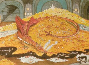 Conversation with Smaug by JRR Tolkien.