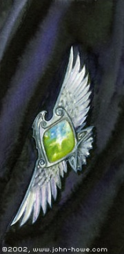 180px-John_Howe_-_Elessar_(Elfstone)