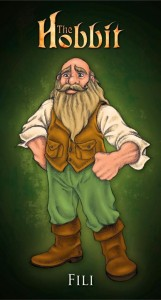 Fili from the fanmade animated Hobbit