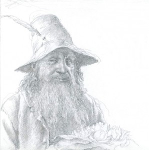 Tom Bombadil by Alan Lee
