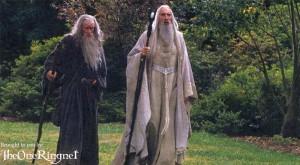 Gandalf and Saruman