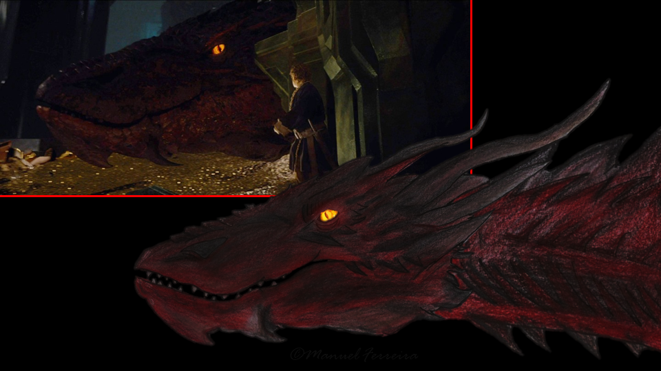 What Smaug Might Look Like A Concept Hobbit Movie News
