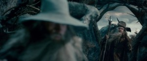 Gandalf and Radagast at Dol Guldur