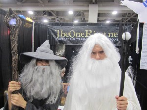 Gandalf & Saruman at SLCC 2013