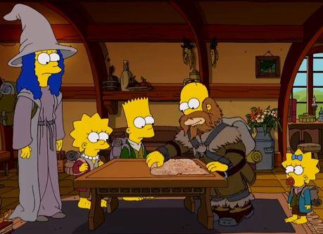 SimpsonsDoTheHobbit