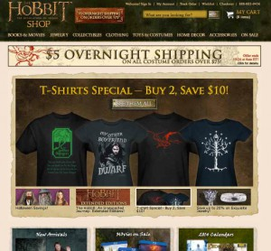 The Hobbit Merchandise | Lord of the Rings Merchandise | HobbitShop.com -- The Official Online Store of The Hobbit Films and The Lord of the Rings Film Trilogy