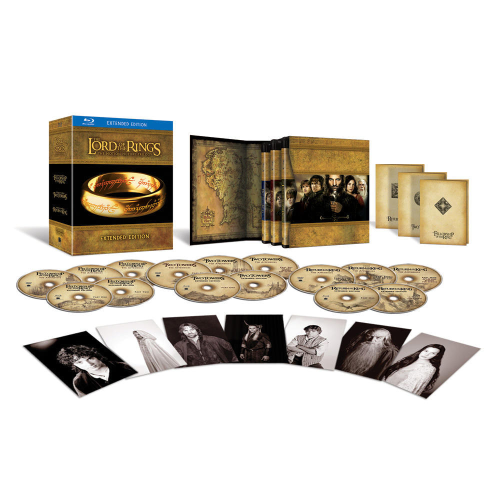 Lotr Extended Edition Blu Ray Blu-ray Extended Edition