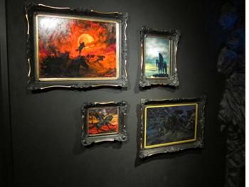 Greisinger Museum, images of Nazgul