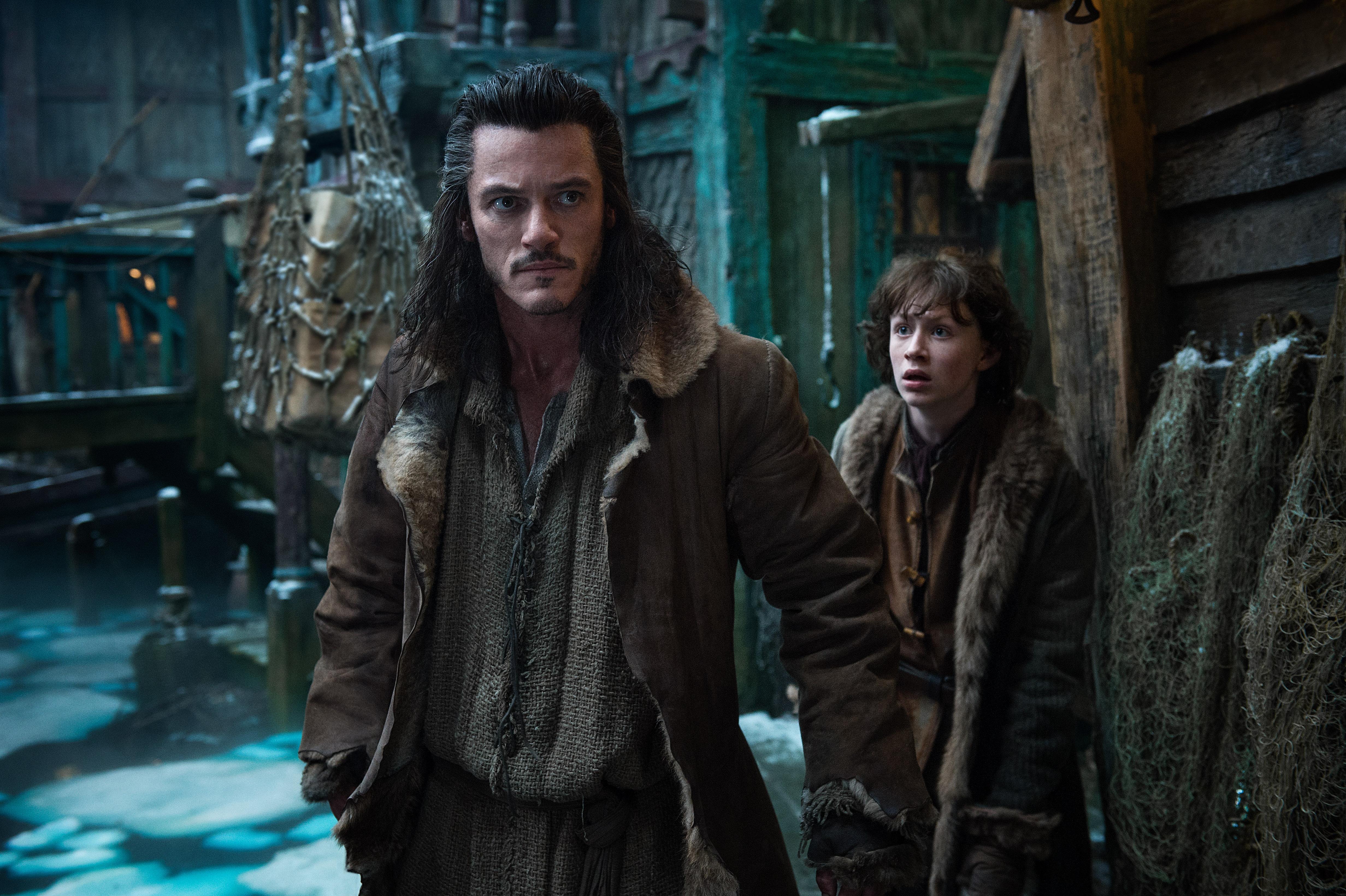 Luke Evans Hobbit