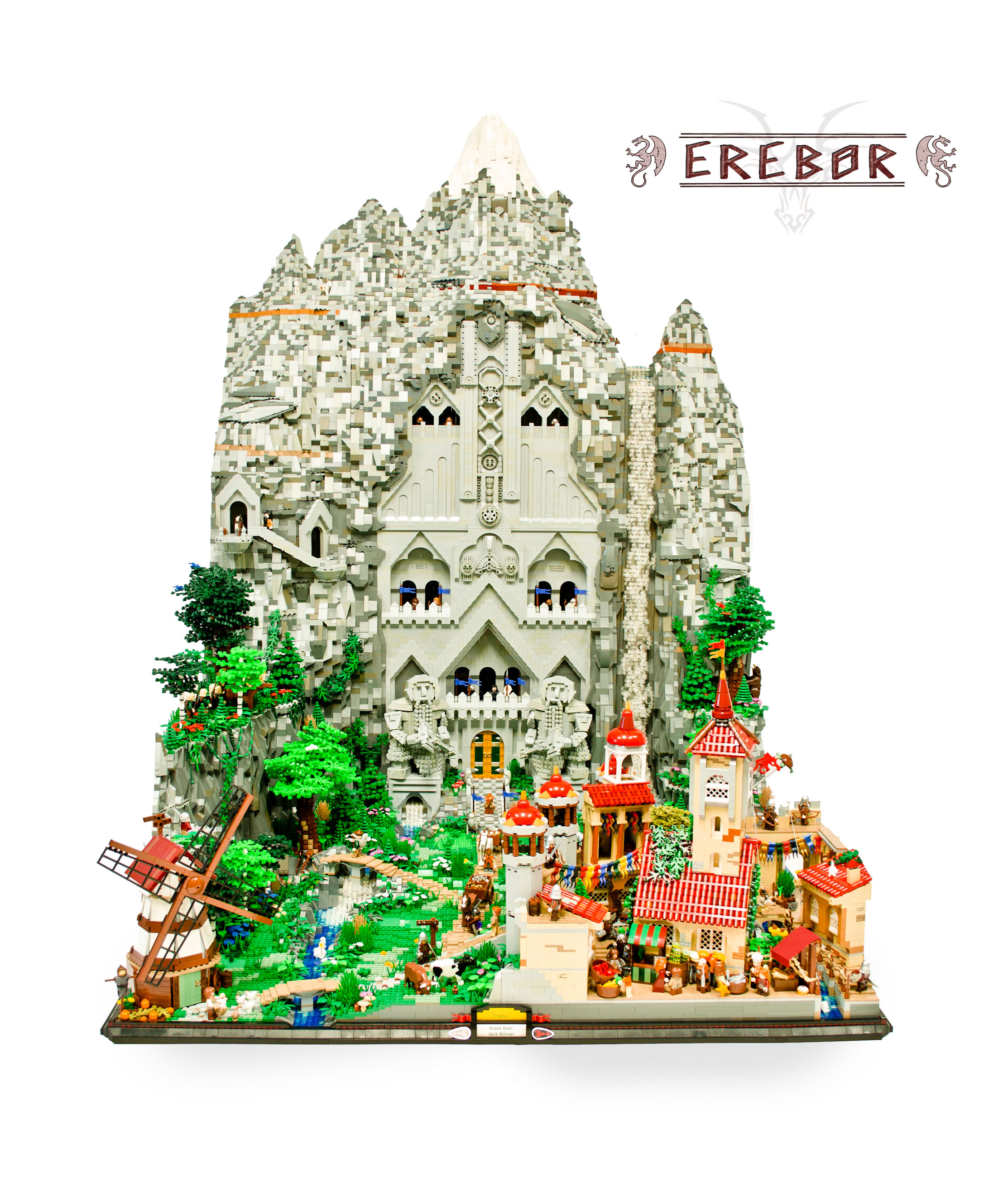 Lego Lord Of The Rings Bag End
